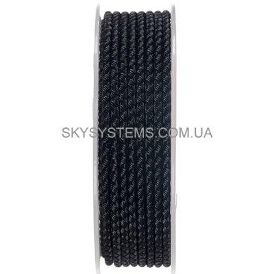 Шелковый шнур Милан 2016 | 4.0 мм, Цвет: Черный 01