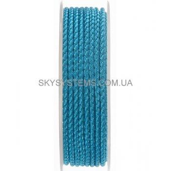 Шелковый шнур Милан 2016 | 2.5 мм, Цвет: Голубой 26