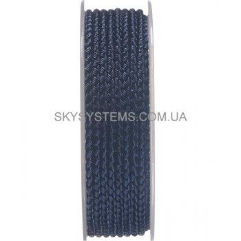 Шелковый шнур Милан 2016 | 3.0 мм, Цвет: Темно-синий