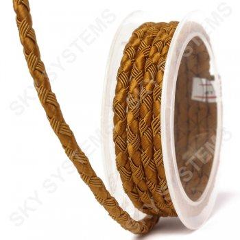 Шелковый шнур Милан 222 | 5.0 мм Цвет: Коричневый 08