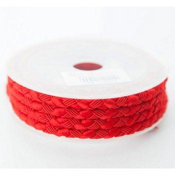 Шелковый шнур Милан 222 | 5.0 мм Цвет: Красный 14
