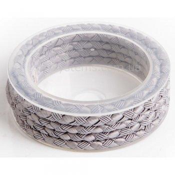 Шелковый шнур Милан 222 | 5.0 мм Цвет: Серый 16