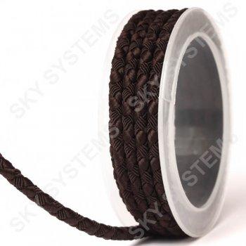 Шелковый шнур Милан 222 | 5.0 мм Цвет: Коричневый 05