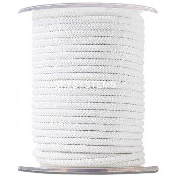 Шелковый шнур Милан 223 | 4.0 мм Цвет: Белый 01