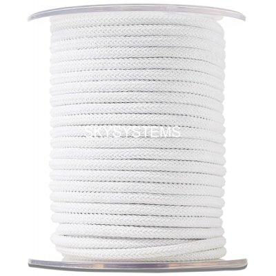 Шелковый шнур Милан 223 | 4.0 мм, Цвет: Белый 01