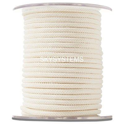 Шелковый шнур Милан 223   4.0 мм Цвет: Бежевый 02