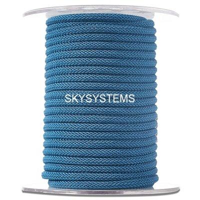 Шелковый шнур Милан 223   4.0 мм Цвет: Синий 08