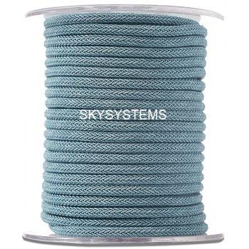 Шелковый шнур Милан 223 | 4.0 мм Цвет: Синий 09