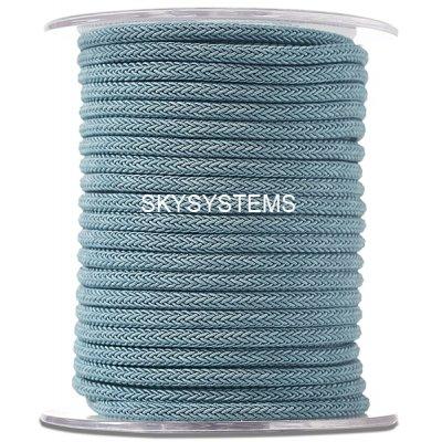Шелковый шнур Милан 223 | 4.0 мм, Цвет: Синий 09