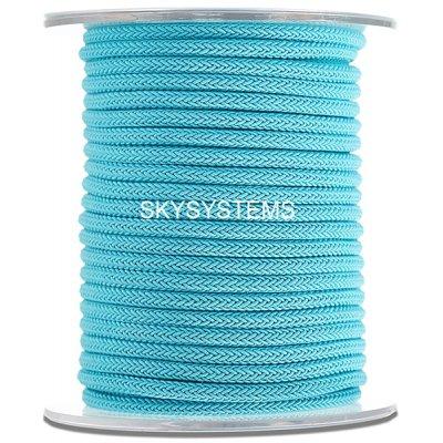 Шелковый шнур Милан 223   4.0 мм Цвет: Бирюза 10