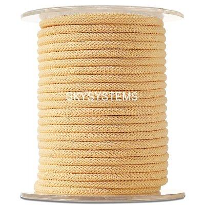 Шелковый шнур Милан 223 | 4.0 мм, Цвет: Желтый 12