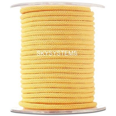 Шелковый шнур Милан 223 | 4.0 мм, Цвет: Желтый 13