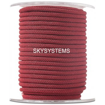 Шелковый шнур Милан 223 | 4.0 мм Цвет: Малиновый 15