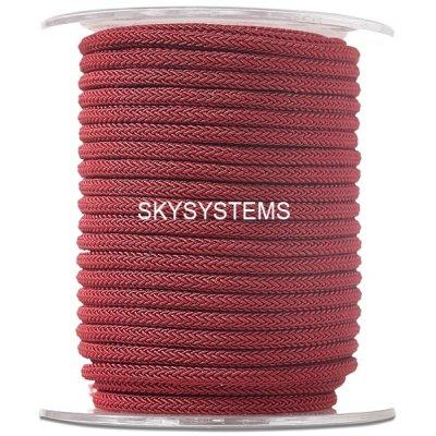Шелковый шнур Милан 223 | 4.0 мм, Цвет: Бордо 15