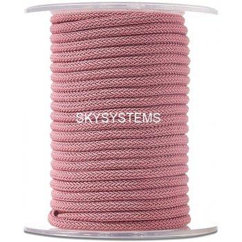 Шелковый шнур Милан 223 | 4.0 мм Цвет: Розовый 16