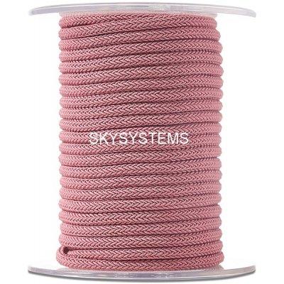 Шелковый шнур Милан 223 | 4.0 мм, Цвет: Розовый 16