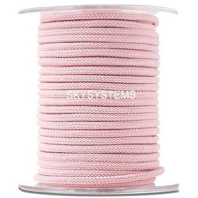 Шелковый шнур Милан 223 | 4.0 мм, Цвет: Розовый 17