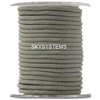 Шелковый шнур Милан 223 | 4.0 мм Цвет: Зеленый 18