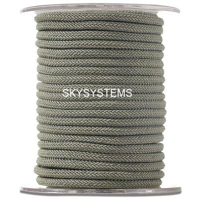 Шелковый шнур Милан 223 | 4.0 мм, Цвет: Зеленый 18