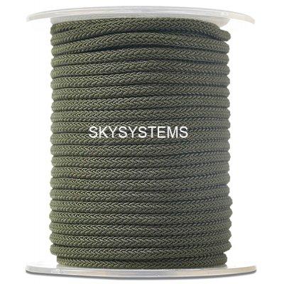 Шелковый шнур Милан 223 | 4.0 мм, Цвет: Зеленый 19