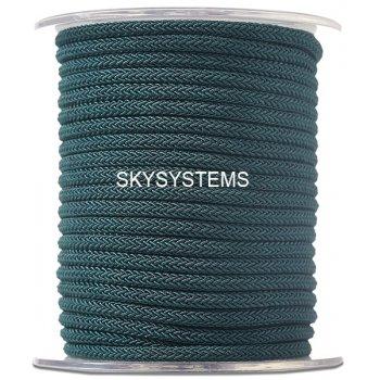 Шелковый шнур Милан 223 | 4.0 мм Цвет: Зеленый 20