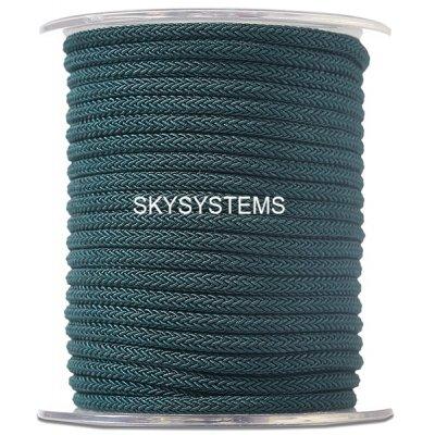 Шелковый шнур Милан 223   4.0 мм Цвет: Зеленый 20