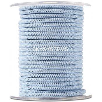 Шелковый шнур Милан 223 | 4.0 мм Цвет: Голубой 21