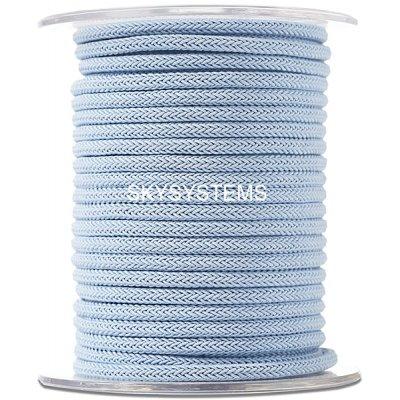 Шелковый шнур Милан 223 | 4.0 мм, Цвет: Голубоый 21