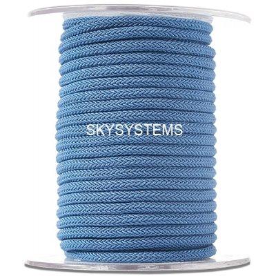 Шелковый шнур Милан 223 | 4.0 мм Цвет: Синий 23