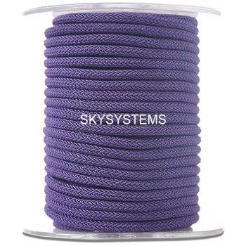 Шелковый шнур Милан 223 | 4.0 мм Цвет: Темно-фиолетовый 25