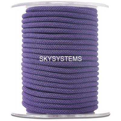 Шелковый шнур Милан 223 | 4.0 мм, Цвет: Фиолетовый 25