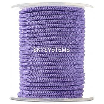 Шелковый шнур Милан 223 | 4.0 мм Цвет: Лиловый 27
