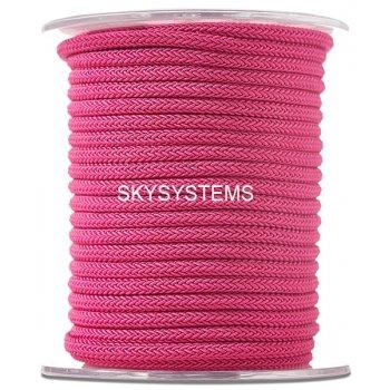 Шелковый шнур Милан 223 | 4.0 мм Цвет: Малиновый 29