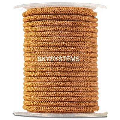 Шелковый шнур Милан 223 | 4.0 мм, Цвет: Коричневый 33