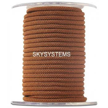 Шелковый шнур Милан 223 | 4.0 мм Цвет: Коричневый 34