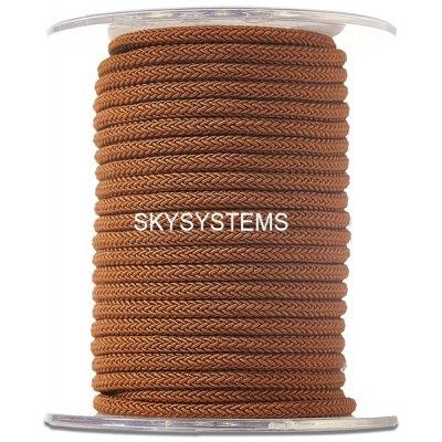 Шелковый шнур Милан 223 | 4.0 мм, Цвет: Коричневый  34
