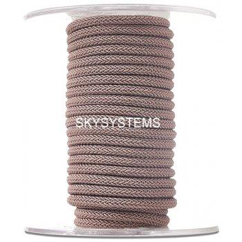 Шелковый шнур Милан 223 | 4.0 мм Цвет: Коричневый 36