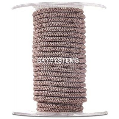 Шелковый шнур Милан 223 | 4.0 мм, Цвет: Коричневый 36