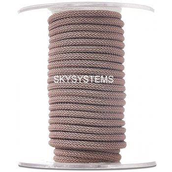 Шелковый шнур Милан 223 | 4.0 мм Цвет: Коричневый 37