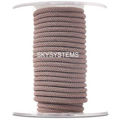Шелковый шнур Милан 223 | 4.0 мм, Цвет: Коричневый 37