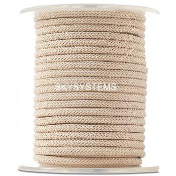 Шелковый шнур Милан 223 | 4.0 мм Цвет: Бежевый 38