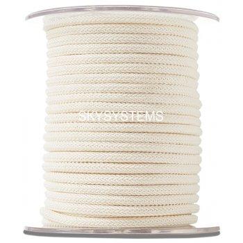 Шелковый шнур Милан 223 | 4.0 мм Цвет: Кремовый 02