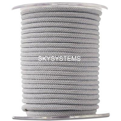 Шелковый шнур Милан 223 | 4.0 мм Цвет: Серый 03