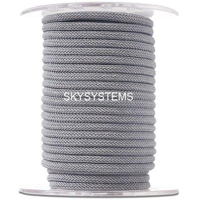 Шелковый шнур Милан 223 | 4.0 мм Цвет: Серый 04