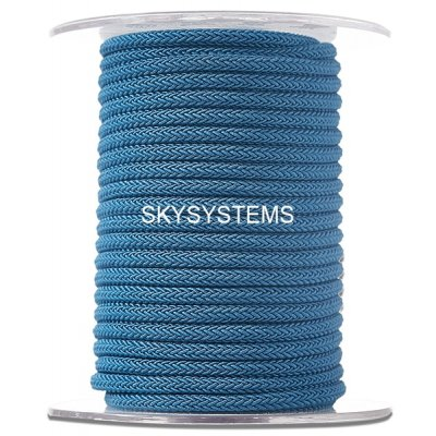 Шелковый шнур Милан 223 | 4.0 мм Цвет: Синий 08