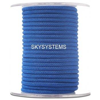 Шелковый шнур Милан 223   4.0 мм Цвет: Синий 24