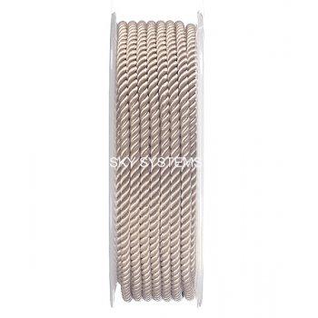 Шелковый шнур Милан 226 | 3.0 мм, Цвет: Бежевый 38