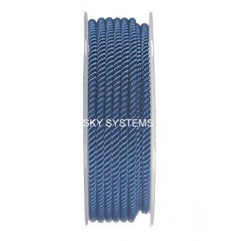 Шелковый шнур Милан 226 | 3.0 мм, Цвет: Синий 08