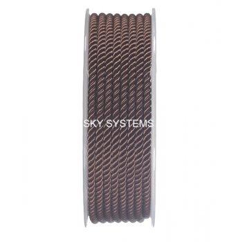 Шелковый шнур Милан 226 | 3.0 мм, Цвет: Коричневый 05