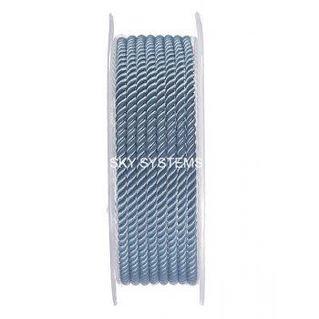 Шелковый шнур Милан 226 | 3.0 мм, Цвет: Синий 09